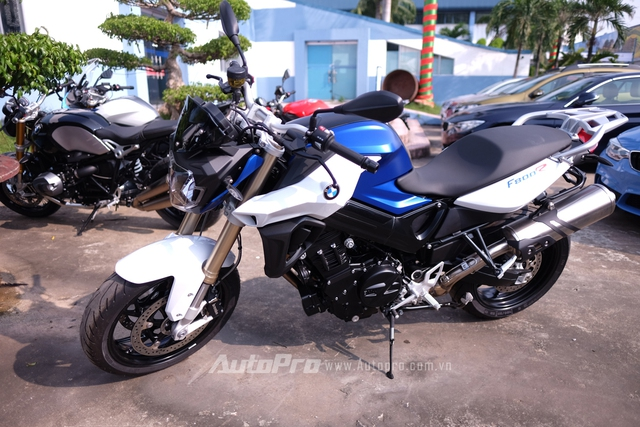 Mẫu naked bike mới BMW F800R.