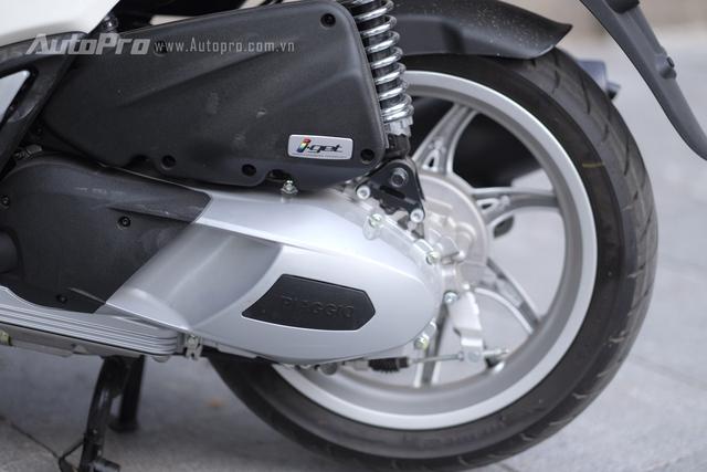 Động cơ i-Get mới của Piaggio Liberty ABS thực chất vẫn là động cơ 3V i.e nhưng được thay đổi một vài chi tiết để đáp ứng được các yêu cầu khắt khe hơn về độ ồn, khí thải và tính ổn định.