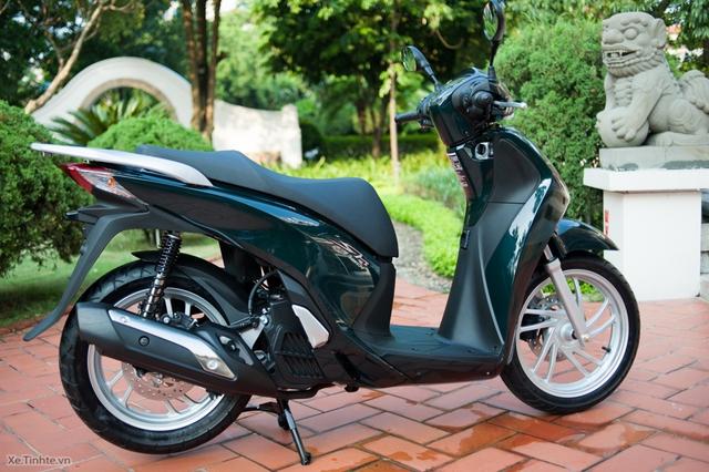 Cận cảnh mẫu Honda SH mới