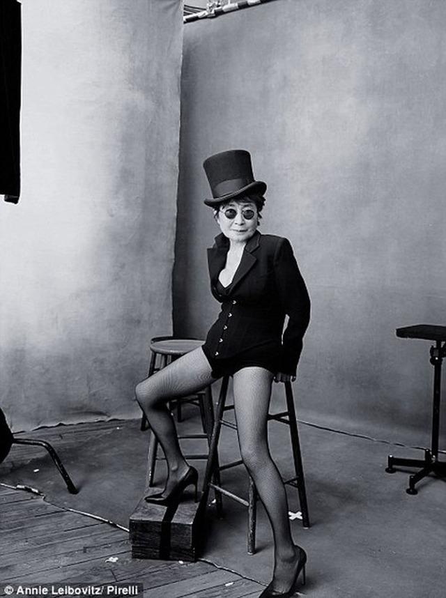 Nghệ sỹ người Nhật Yoko Ono, vợ của huyền thoại quá cố John Lennon.