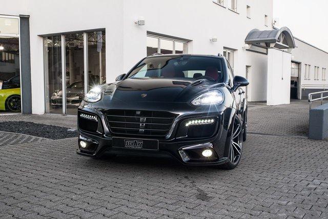 TechArt, hãng độ xe đồng hương với Porsche, mới đây đã tung ra gói độ có tên Magnum dành cho SUV hạng sang Cayenne với ngoại hình đậm chất hiếu chiến và gân guốc.
