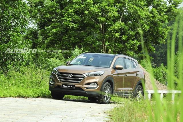 Hyundai Tucson 2016 với thiết kế mới.