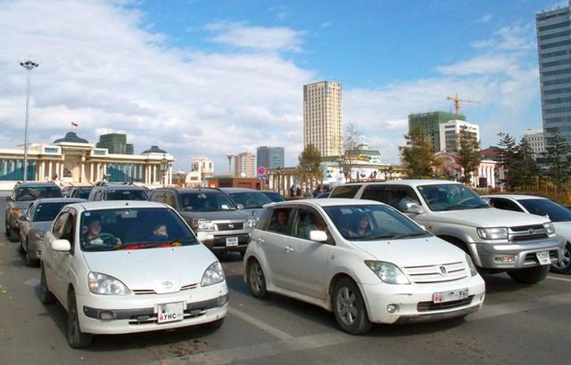 Các dòng xe Toyota có vị trí đặc biệt tại Mông Cổ. Ảnh: Thetruthaboutcars