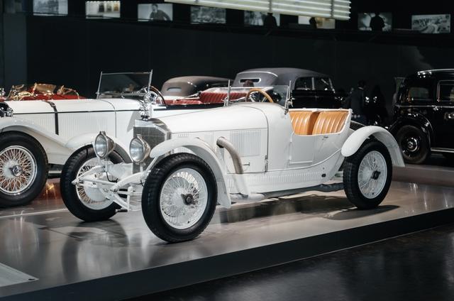 Chiếc Mercedes-Benz 10/40 hp - biểu tượng của hãng một thời.