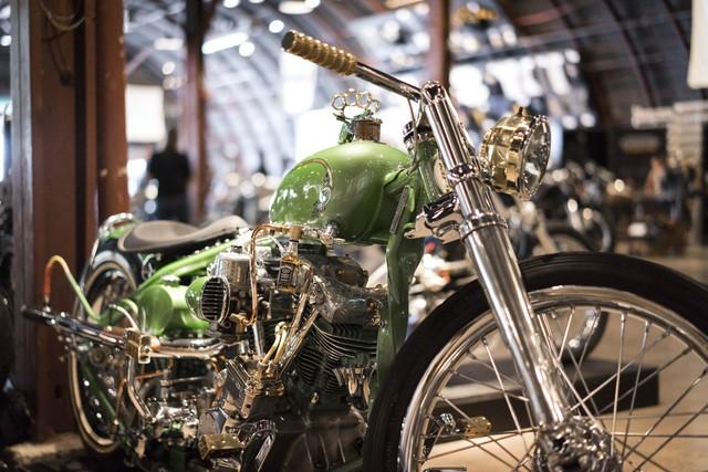 Đây là chiếc Amy's Twisted Bobber của thợ độ Timothy Scates. Xe được đặt tên theo con gái của ông Scates. Chiếc xe mang phong cách Bobber đã được gỡ bỏ nhiều chi tiết để siêu nhẹ và trông tối giản hơn.