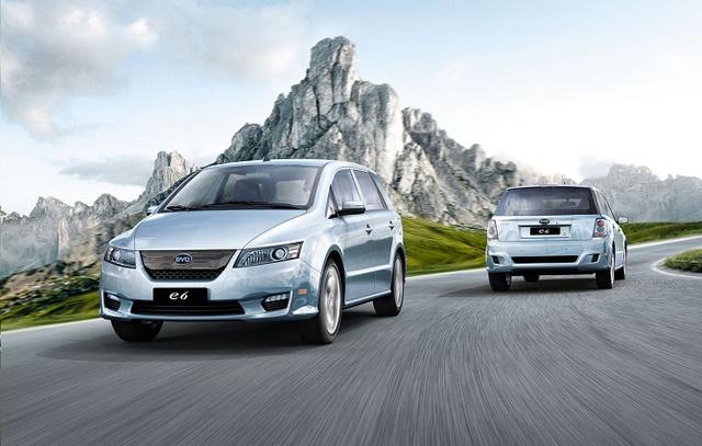 Hãng xe BYD của Trung Quốc hiện đang là công ty đứng đầu thế giới về doanh số xe điện/hybrid.
