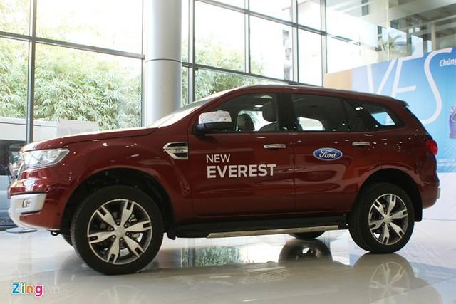 Ford Everest thế hệ mới đã bắt đầu bán ở Việt Nam từ đầu tháng 1. Ảnh: Hân Nguyễn