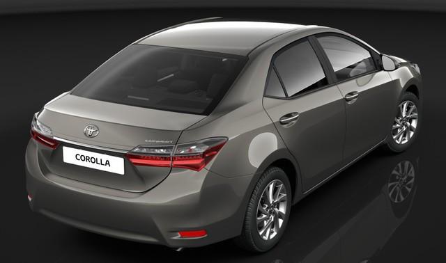Hình ảnh đầu tiên của Toyota Corolla Altis 2017 tại thị trường Úc.