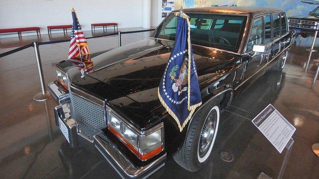 Ronald Reagan đã dùng chiếc limousine này trong suốt nhiệm kỳ thứ 2 của ông