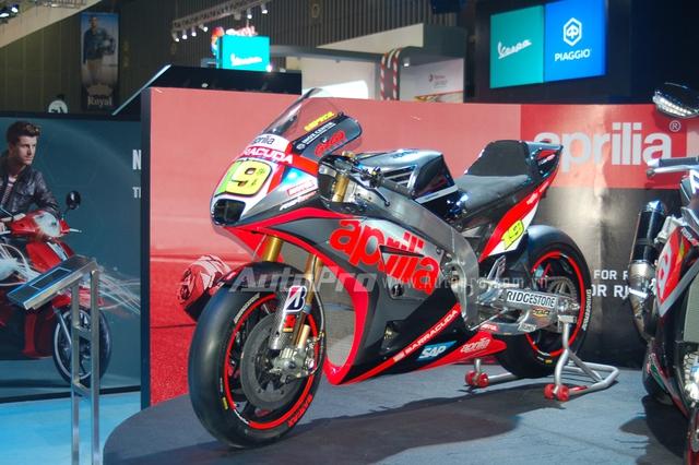 Siêu môtô Aprilia RS-GP là dự án khá dài hơi và tâm huyết của hãng mô tô đến từ Ý, khi được thực hiện 100% bởi những kỹ sư của Aprilia.