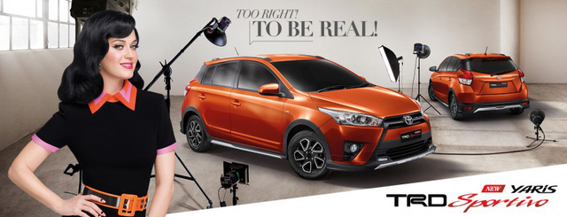 Sau Fortuner, hãng Toyota tiếp tục bổ sung phiên bản thể thao TRD Sportivo cho một mẫu xe khác tại thị trường Thái lan, đó là Yaris. Dự kiến, Toyota Yaris TRD Sportivo 2016 sẽ chính thức trình làng trong triển lãm Bangkok sắp tới.