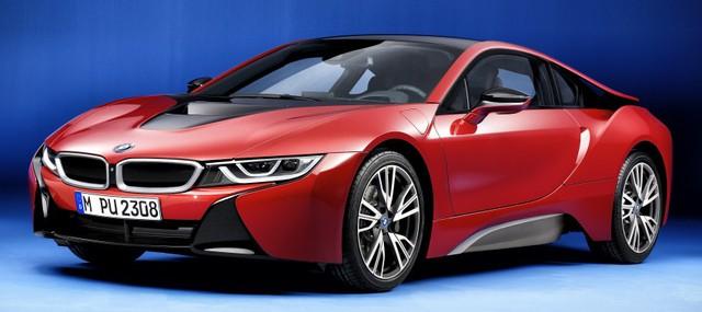 Trong triển lãm Geneva 2016 sắp diễn ra vào tháng 3 tới, hãng BMW sẽ chính thức trình làng phiên bản đặc biệt mới của dòng xe hybrid thể thao hạng sang i8 nổi tiếng mang tên Protonic Red Edition.