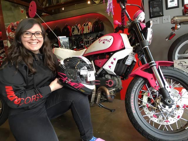 Được biết, chiếc Ducati Scrambler độ theo phong cách Hello Kitty là tác phẩm của đại lý MotoCorsa of Portland đến từ bang Oregon, Mỹ. Đây chính là đại lý có doanh số bán xe Ducati cao nhất tại nước Mỹ.