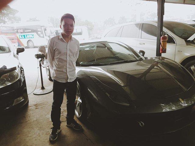 Ferrari 488 GTB đã có mặt tại Hà Nội. Ảnh Otofun