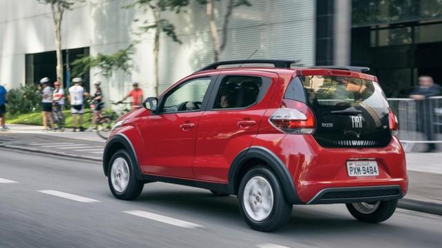Tại thị trường Brazil, Fiat Mobi được chia thành 6 bản trang bị là Easy, Easy On, Like, Like On, Way và Way On.