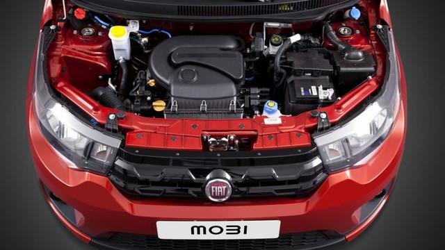 Trái tim của Fiat Mobi là khối động cơ đa nhiên liệu, 4 xy-lanh, dung tích 1.0 lít, sản sinh công suất tối đa 73 mã lực và mô-men xoắn cực đại 93 Nm nếu chạy bằng xăng. Hai con số tương ứng khi động cơ chạy bằng ethanol là 75 mã lực và 97 Nm.
