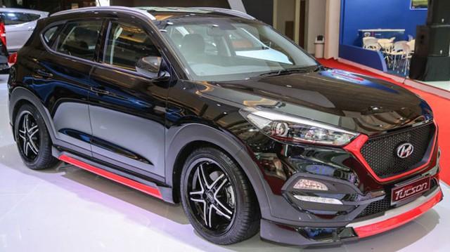 Hyundai Tucson độ gợi liên tưởng đến...