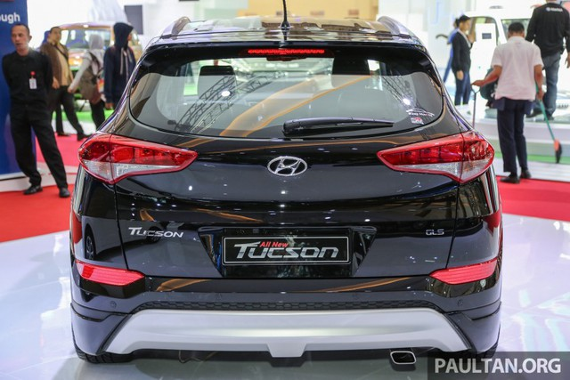 Hyundai Tucson phiên bản độ.