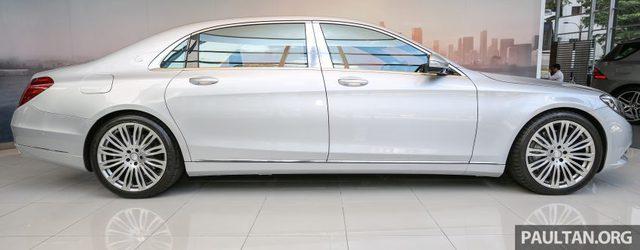 So với S-Class tiêu chuẩn, Mercedes-Maybach S500 dài hơn 207 mm. Bản thân chiều dài cơ sở của Mercedes-Maybach S500 cũng nhỉnh hơn 200 mm.