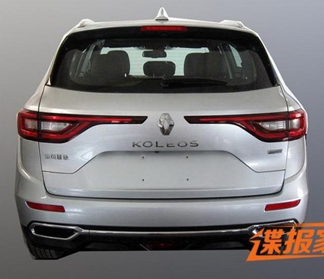 Hình ảnh rò rỉ của Renault Koleos 2017 tại Trung Quốc.