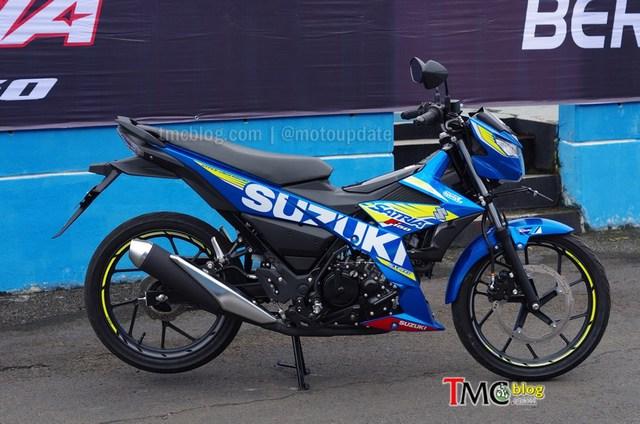 Hôm qua, ngày 16/2/2016, mẫu xe underbone Suzuki Raider 150 phun nhiên liệu điện tử mới đã chính thức ra mắt tại Indonesia sau bao ngày để người hâm mộ tại nhiều nước Đông Nam Á mong đợi. Tại thị trường Indonesia, Suzuki Raider 150 FI được gọi bằng cái tên Satria F150.