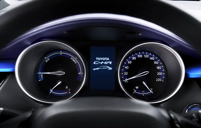 Hệ thống an toàn Safety Sense của Toyota sẽ được trang bị cho toàn bộ dòng C-HR, ít nhất là tại thị trường châu Âu. Hệ thống này bao gồm tính năng ngăn ngừa va chạm, phát hiện người đi bộ, kiểm soát hành trình thích ứng, cảnh báo chuyển làn đường, đèn pha tự động và hỗ trợ nhận diện biển báo giao thông.