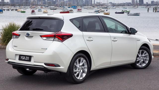 Toyota Corolla Hybrid tại Úc...