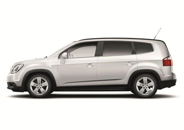 Mẫu xe MPV đa dụng Chevrolet Orlando.