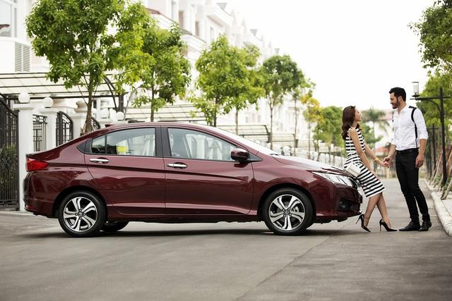 Honda City 2016 - mẫu xe được kỳ vọng trong phân khúc xe sedan hạng B.