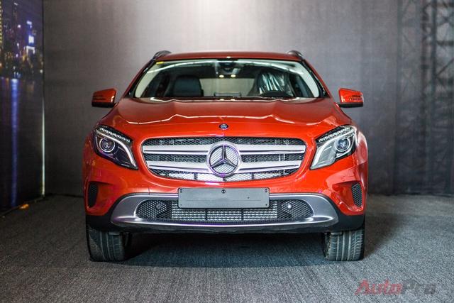 Mercedes-Benz GLA 200.