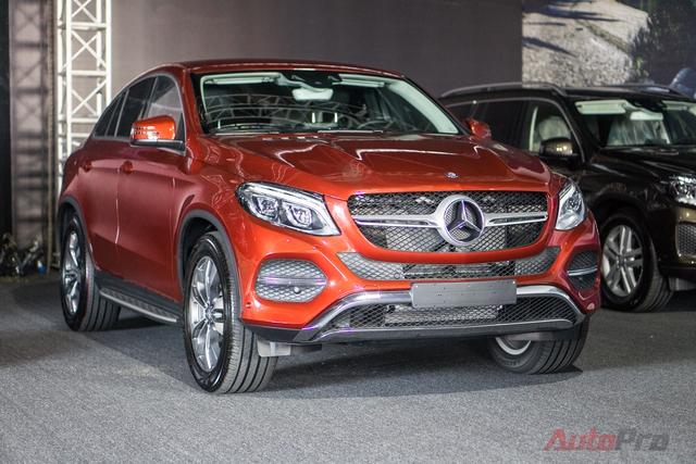 Mercedes-Benz GLE 400.