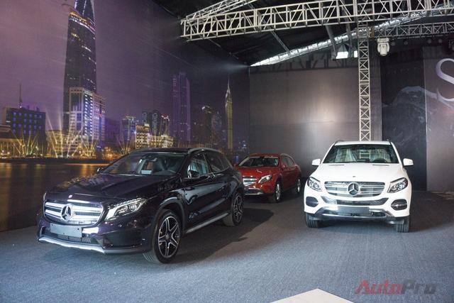 Mercedes-Benz Fascination 2016 với chủ đề SUVenture sẽ tập hợp đầy đủ các mẫu SUV của MBV. Sự kiện bắt đầu khai màn vào chiều mai (15/6) và kéo dài trong 4 ngày sau đó cho công chúng.