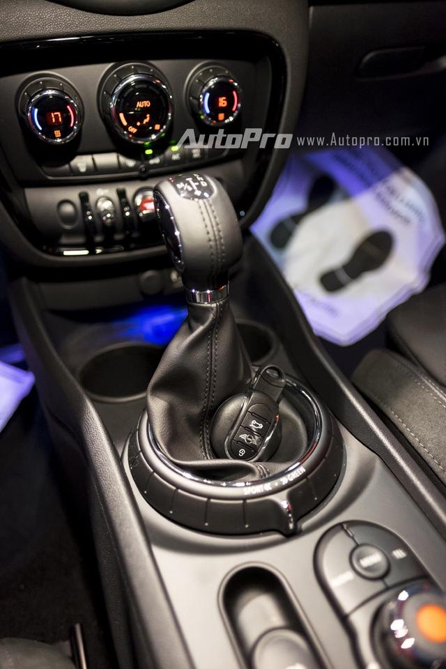 Mini Clubman 2016 vẫn có các chế độ lái riêng biệt như Sport, MID và Green cho cảm giác lái khác biệt.