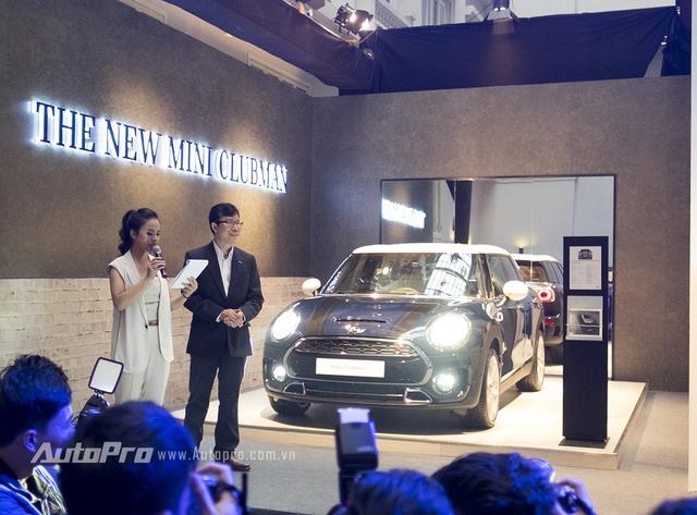 Tổng giám đốc Euro Auto - Ông Nguyễn Đăng Thảo - tại buổi ra mắt Mini Clubman 2016 tại Hà Nội.