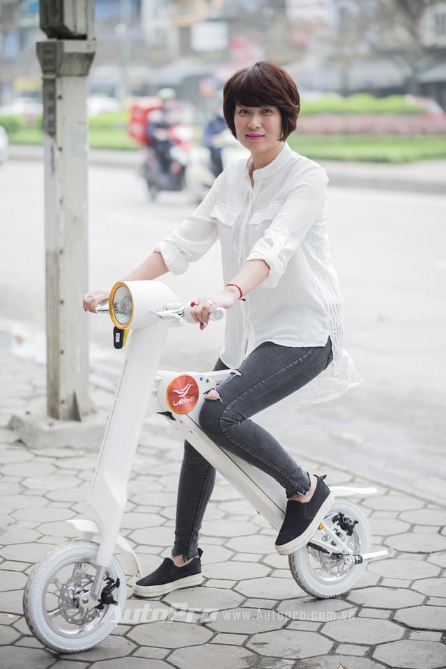 Lehe K2 hoàn toàn phù hợp với chiều cao trung bình của phụ nữ Việt Nam.