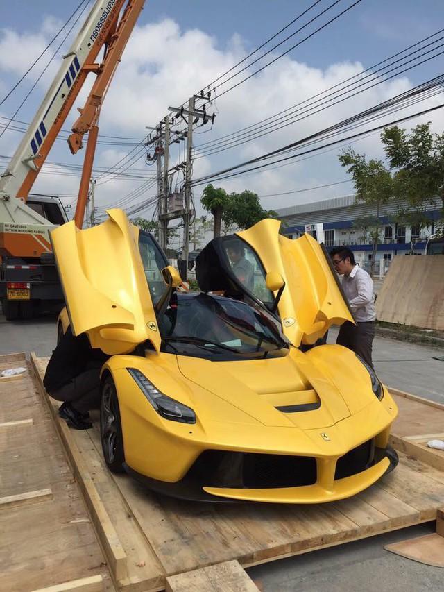 Được biết, chủ nhân của hàng hiếm này là chủ tịch câu lạc bộ Ferrari tại Thái Lan.