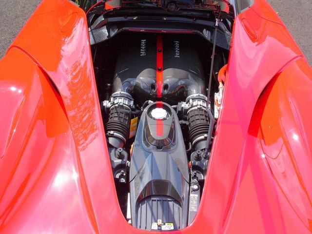 Ferrari LaFerrari được trang bị động cơ V12, dung tích 6.3 lít, sản sinh công suất tối đa 800 mã lực và mô-men xoắn cực đại 700 Nm. Bên cạnh đó, còn có mô-tơ điện sản sinh công suất tối đa 163 mã lực và mô-men xoắn cực đại 270 Nm.