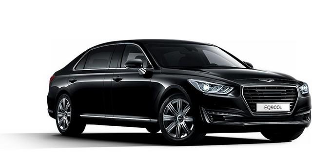 Khác với phiên bản tiêu chuẩn, Genesis EQ900L không phải là mẫu xe toàn cầu. Hãng Hyundai chỉ dự định tung Genesis EQ900L tại những thị trường thực sự có nhu cầu mua xe trục cơ sở dài.