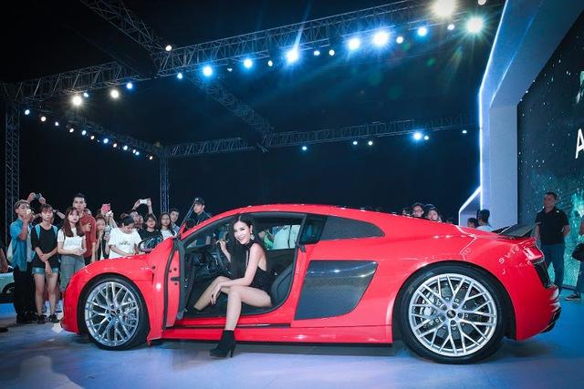 Đông Nhi hiện là đại sứ thương hiệu Audi A3 Sportback