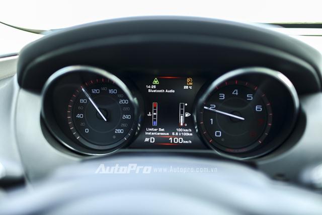 Limited Speed giúp người lái vô tình chạy quá tốc độ.