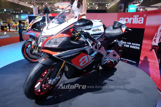 Xe thể thao Aprilia đã chính thức được Piaggio Việt Nam phân phối.