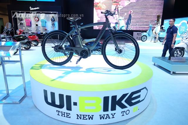 Xe đạp điện Wi-Bike là định nghĩa mới về xe của Piaggio.