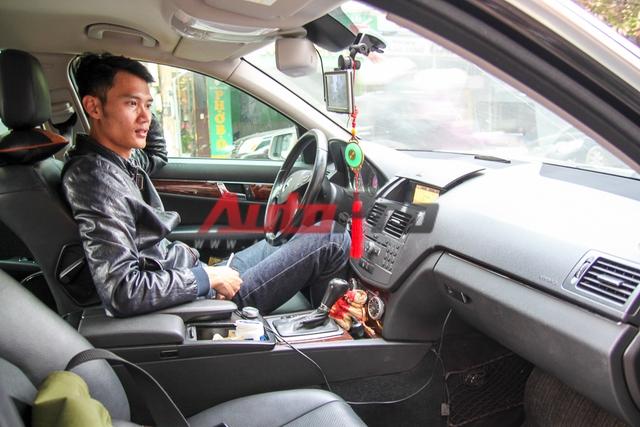 Anh T.Khánh, chủ xe Mercedes C250.