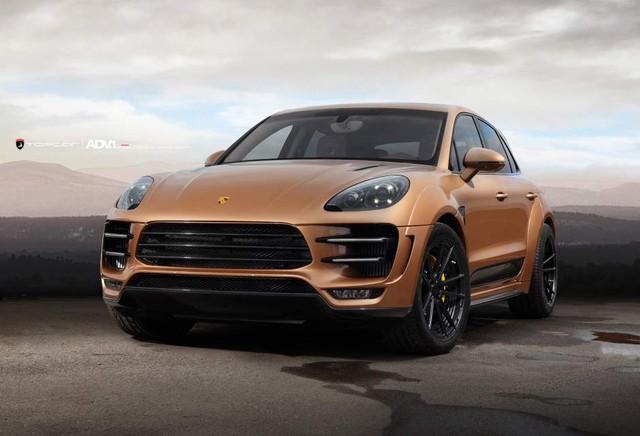 Mẫu xe hot của nhà Porsche - tiểu hổ Macan - cũng mạnh mẽ hơn với mâm xe ADV5.2MV2SL.