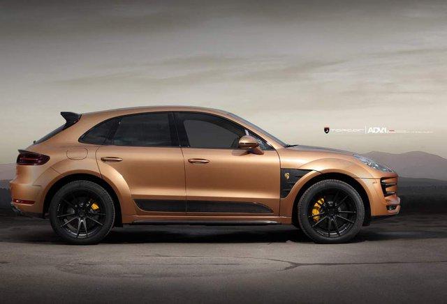 Chiếc xe Porsche Macan cá tính hơn với bộ mâm xe mới đến từ ADV.1 Wheels.
