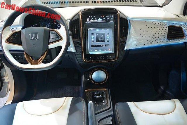 Nội thất của Luxgen S3 EV