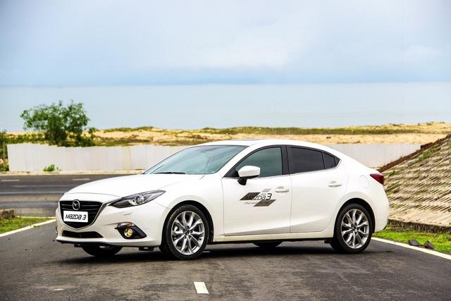 Ngoài Mazda6, Thaco còn áp dụng gói ưu đãi cho khách hàng mua Mazda3 và xe tải.