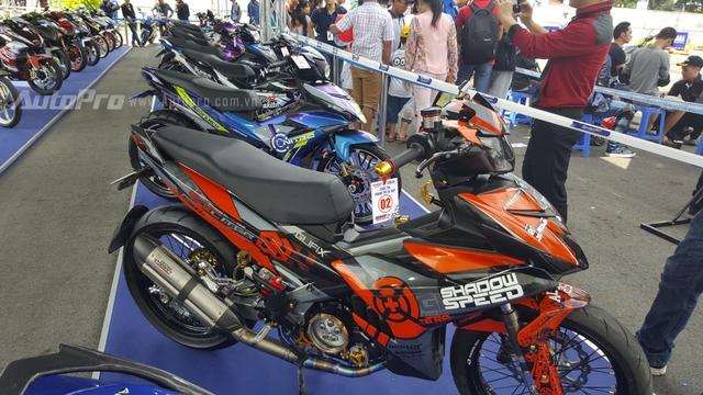Bên cạnh đó, dàn xế độ Yamaha Exciter với 20 chiếc mang các phong cách khác nhau cũng là tâm điểm của ngày hội Y-Motor Sport 2016.