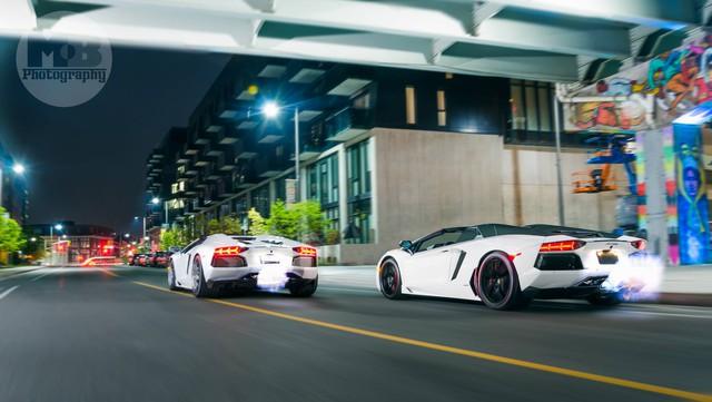 Chiếc Lamborghini Aventador thứ 5.000 xuất xưởng thuộc bản mui trần.