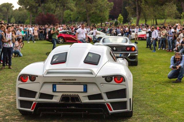Mazzanti Evantra siêu xe đến từ Ý với giá bán gần 1 triệu USD.